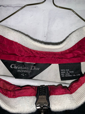 Vintage Christian Dior Quarter Zip Longsleeve Light Jacket