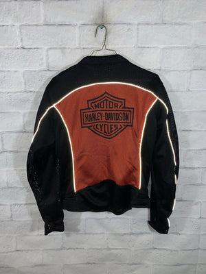 Black Harley Davidson 3M Full Zip Mesh Jacket