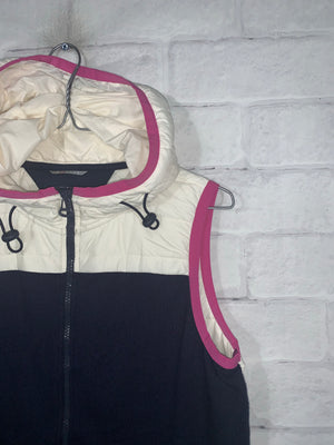 Blue/White Tommy Hilfiger Full Zip Vest
