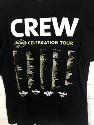 Hard Rock Cafe 40th Anniversary crew tshirt SZ womens Large