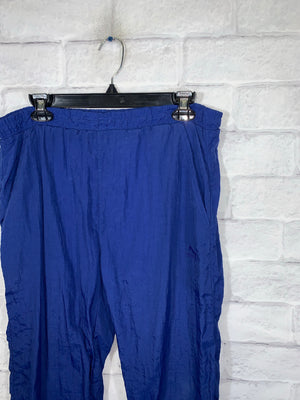 Vintage Blue Puma Sweatpants