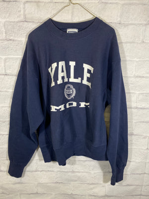 Yale fleece cruneck sweater
