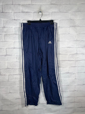 Vintage Rare Adidas Full Button Sweatpants