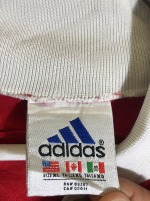 Adidas long sleeve soccer football jersey SZ mens medium