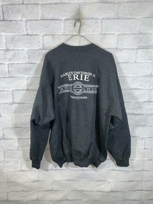 Grey Harley Davidson Erie Longsleeve Sweater