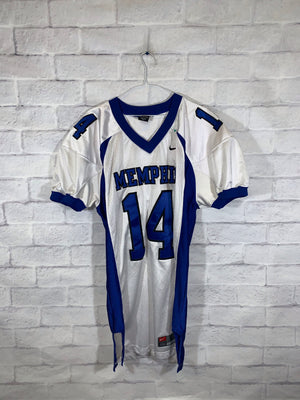 Nike Memphis University stitched football jersey SZ mens
