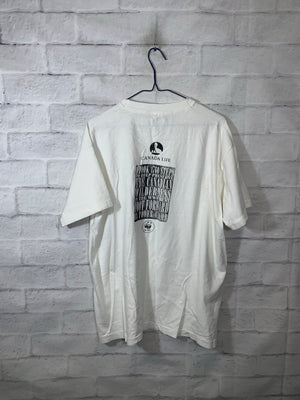 White WWF Double-Sided Graphic T-Shirt