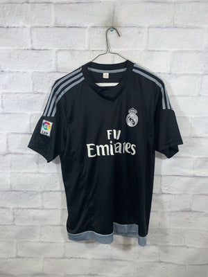 Grey Real Madrid Sports Jersey