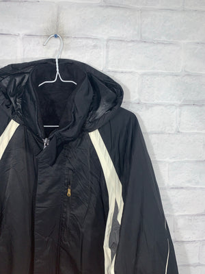 Vintage Black Nautica Competition Full Zip Jacket