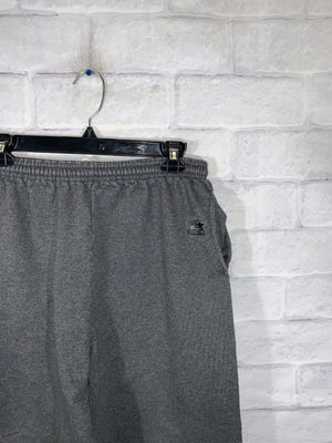 Starter dark grey fleece track pants SZ mens Large