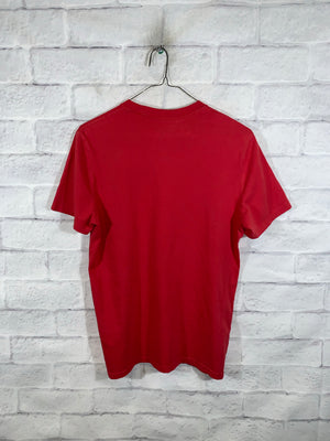 Red Calvin Klein Jeans Graphic T-shirt