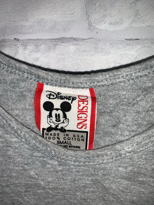 Grey Disney Mickey Mouse Tank Top