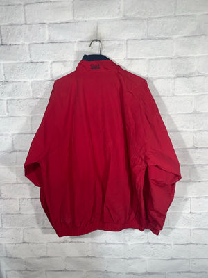 Vintage Red Gear for Sports Full Zip Light Jacket
