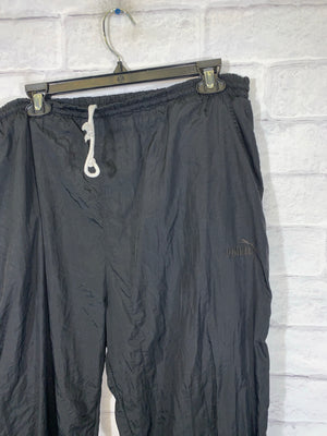 Vintage Black Puma Sweatpants