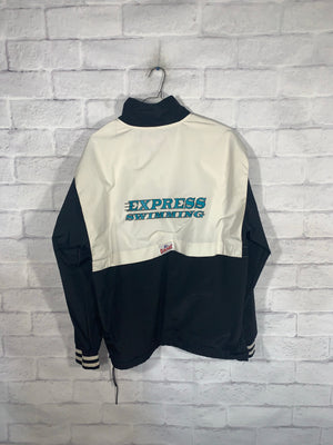 Vintage Black/White Game Full Zip Light Jacket