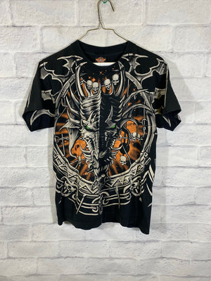 Dragon double graphic tshirt