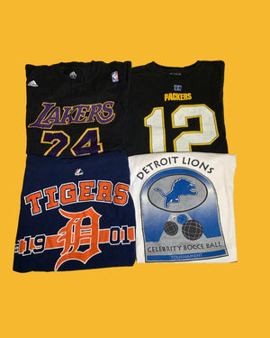 Sports Tee Package - 20 Pieces