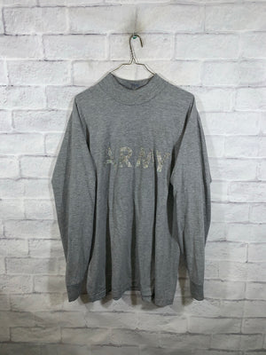 Grey Army Longsleeve Sweater