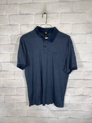 Vintage Calvin Klein Quarter Button Golf Shirt