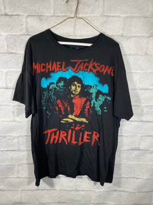 Michael Jackson 2009 Thriller big graphic tshirt
