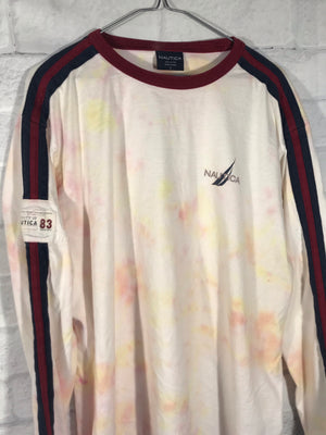 Nautica Long sleeve tie dye shirt SZ mens Large