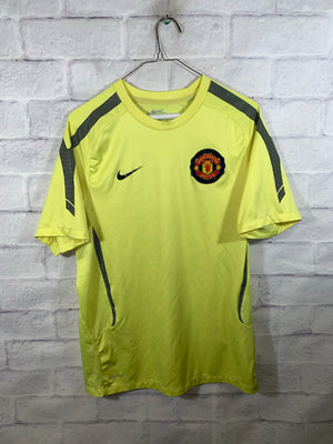 Nike Neon dri fit Manchester united jersey