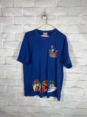 Blue Looney Tunes Graphic T-Shirt