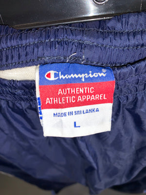 Champion track jacket SZ mens Large