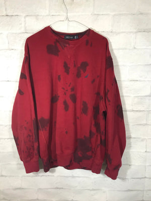 Fila fleece tye dye sweater SZ mens Large
