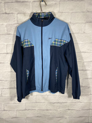 Reebok fullzip windbreaker jacket SZ womens medium