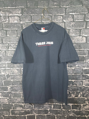 Blue Tommy Hilfiger Jeans Graphic T-Shirt