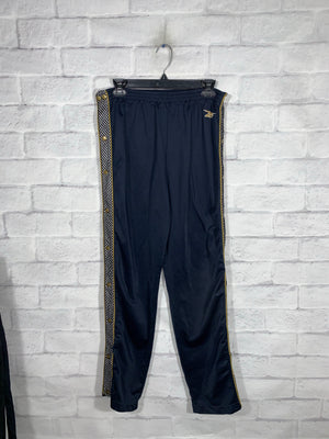 Blue Reebok Full Button Sweatpants