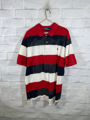 Tye-Dye Polo Ralph Lauren Quarter Button Golf t-Shirt