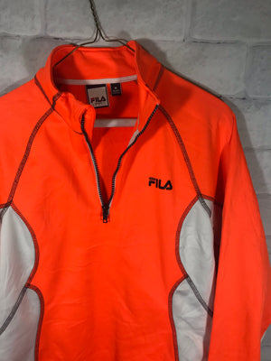 Fila Sport quarterzip dri fit sweater SZ womens medium