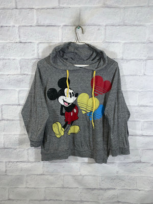 Grey Disney Mickey Mouse Longsleeve Sweater