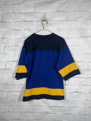 Blue NFL St.Louis Blues Longsleeve Sports Jersey
