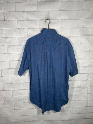 Vintage Blue Tommy Hilfiger Full Button Dress Shirt