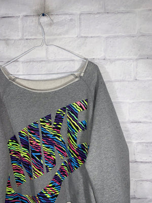 Nike crop sweater SZ womens Large