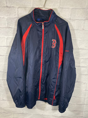 Boston Reebok fullzip track jacket SZ mens XL