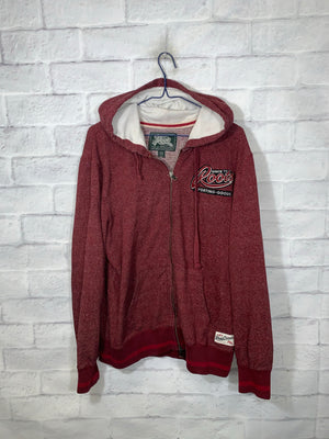 Red Roots Full Zip Light Jacket