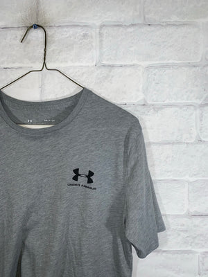 Grey Under Armour Graphic T-Shirt