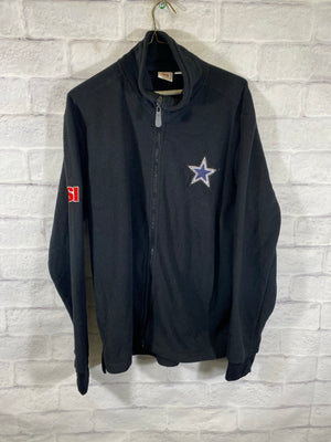 Dallas Cowboys fullzip track jacket SZ womens XL