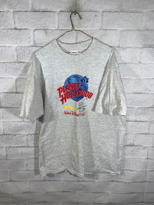Grey Planet Hollywood Graphic T-Shirt
