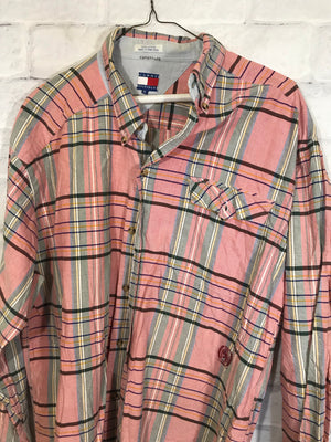 Tommy Hilfiger 90's button down shirt SZ mens XL
