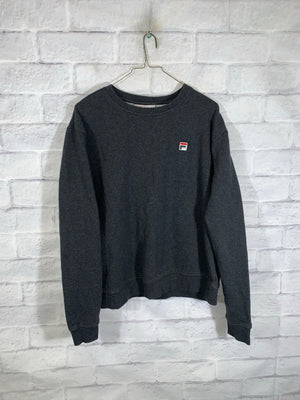 Grey FILA Longsleeve Sweater