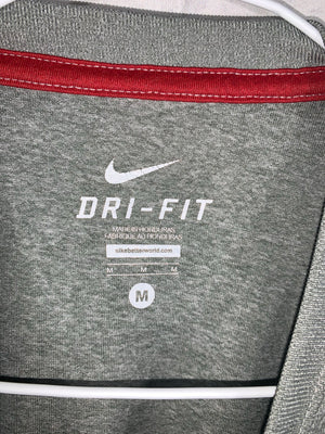 Grey Nike Dri-Fit Graphic T-Shirt