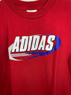 Red Adidas Graphic T-Shirt