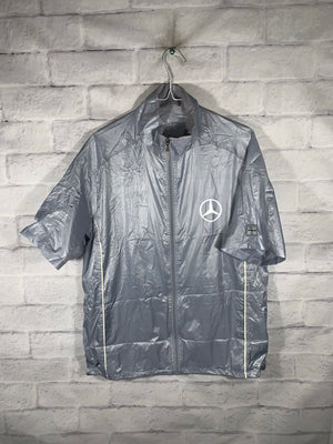 Mercedes Benz wind jacket SZ womens XL