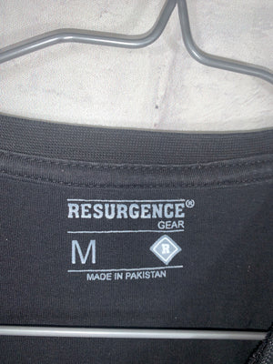 Resurgence biking print tshirt SZ mens medium