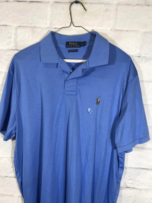 Polo Ralph lauren collar shirt SZ mens Large